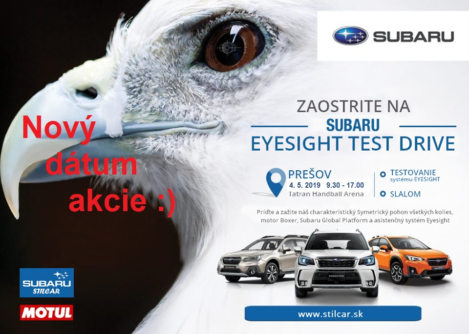 Subaru Eyesight Test Drive